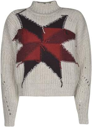 Isabel Marant etoile Cropped Knitted Sweater