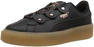 Puma Unisex Basket Platform Loops Kids Sneaker