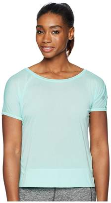 Asics Legends Crop Top Women's Short Sleeve Pullover
