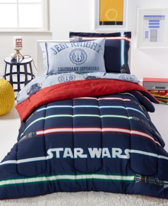 Disney Star Wars Light Saber Twin 5 Piece Comforter Set