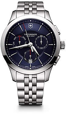 Victorinox Men's Stainless Steel Chronograph Bracelet Watch