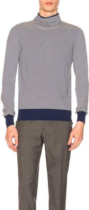 Maison Margiela Striped Jersey Pullover