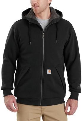 Carhartt Rain Defender Rockland Sherpa-Lined Full-Zip Hooded Sweatshirt - Men's