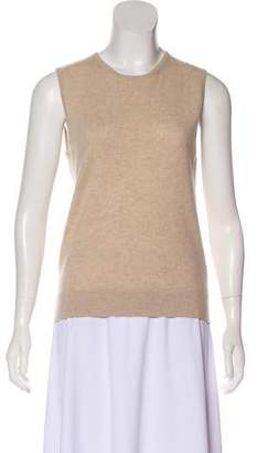 Henri Bendel Cashmere Sleeveless Top