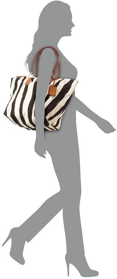 Dooney & Bourke Handbag, Nylon Printed Large Shopper