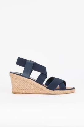 8107eec5727 Elastic Strap Wedge Shoes - ShopStyle UK