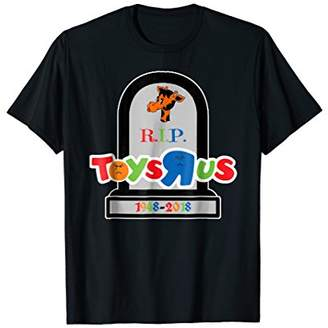 Giraffe Toy Store Rest In Peace Sad Crying Face T-shirt