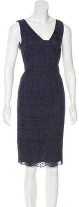 Tory Burch Crochet Knee-Length Dress