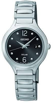 Seiko Women's SUT177 Solar-Power Stainless Steel Watch