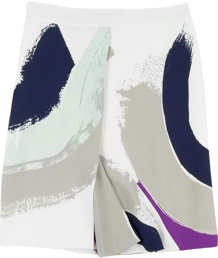Chloé Rythme printed skirt