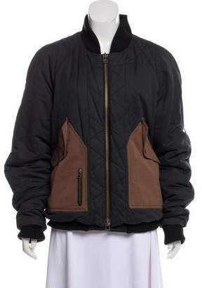 Acne Studios Flap-Pocket Bomber Jacket