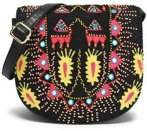 Antik Batik Embellished Leather Shoulder Bag