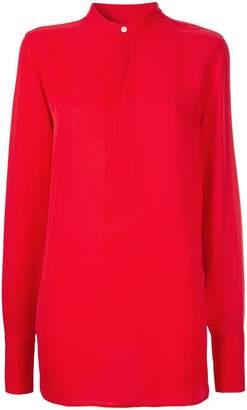 Polo Ralph Lauren collarless blouse