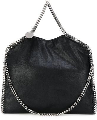 Stella McCartney black Falabella faux leather tote