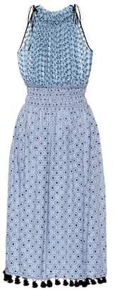 Altuzarra Sleeveless printed cotton dress