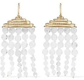 Aurelie Bidermann Gold-Tone Beaded Earrings