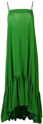 Gianluca Capannolo flared cami dress