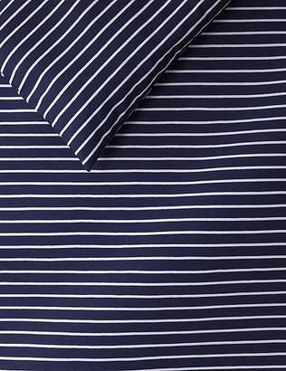 Marks and Spencer Striped Jersey Bedding Set