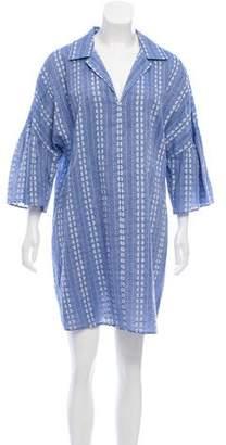 Splendid Short Sleeve Mini Dress