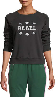 "Rebecca Minkoff Jennings ""Rebel"" Sweatshirt"
