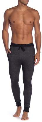 Bottoms Out Pique Effect Joggers