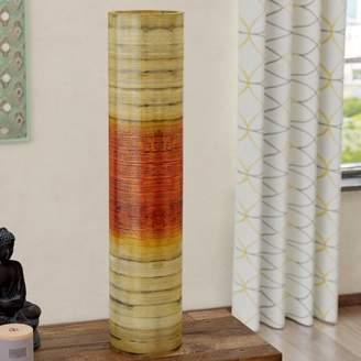 Bloomsbury Market Eagle Harmor Bamboo Floor Vase
