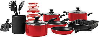 B.ella 21-pc. Aluminum Cookware Set