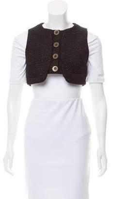 See by Chloe Tweed Cropped Vest w/ Tags