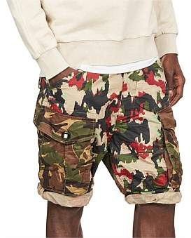 G Star G-Star Rovic Rc Relaxed Cargo Short W/ Zip-Pocket