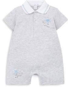 Kissy Kissy Baby Boy's Striped Shortall