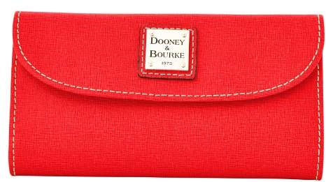 Dooney & Bourke Saffiano Continental Clutch Wallet - RED - STYLE