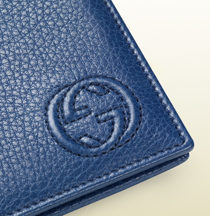 Gucci Soho Leather Bi-Fold Wallet