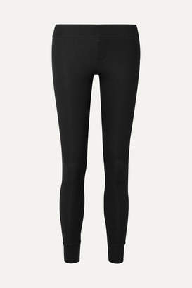 ATM Anthony Thomas Melillo Ribbed Stretch-micro Modal Leggings - Black