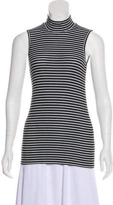 ATM Striped Sleeveless Top