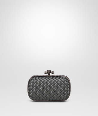 Bottega Veneta LIGHT GRAY INTRECCIATO IMPERO KNOT