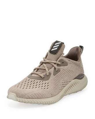 Adidas Alphabounce Engineered Mesh Sneaker, Tech Earth/Clear Brown/Crystal White $110 thestylecure.com