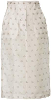 Max Mara branded pencil skirt