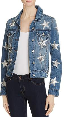 Bagatelle Star Patch Denim Jacket $138 thestylecure.com