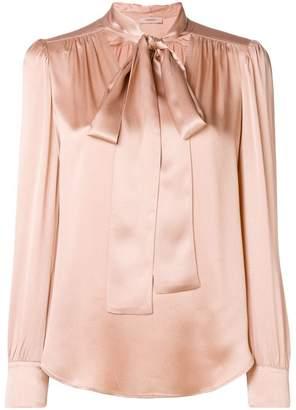Twin-Set bow collar blouse