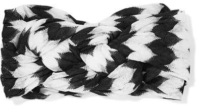MissoniMissoni - Crochet-knit Headband - Black