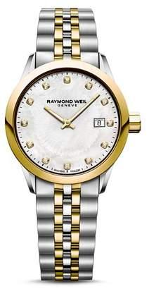 Raymond Weil Freelancer Diamond Watch, 29mm
