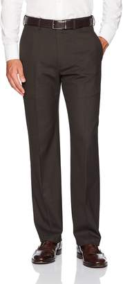 Haggar Men's J.m Premium Stretch Classic Fit Plain Front Pant