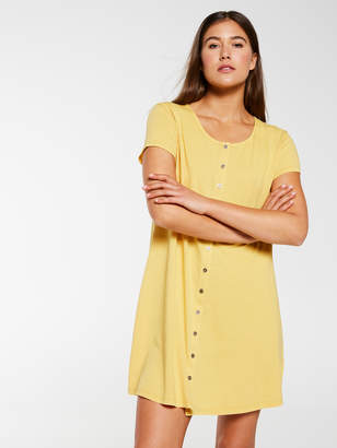 Dotti Lily T-Shirt Button Through Dress