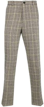 Kenzo checked printed tailored trousers