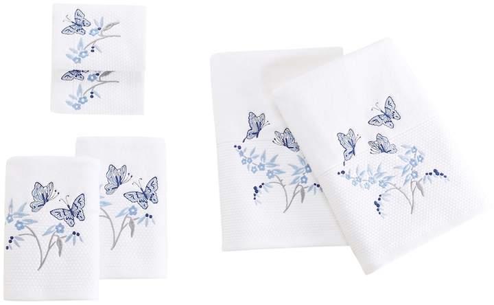 Madison Park Callia Embroidered 6-piece Bath Towel Set