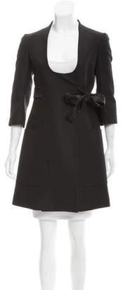 Louis Vuitton Wool & Silk Coat