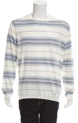Burberry Linen-Blend Striped Shirt