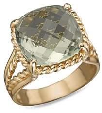 Bloomingdale's 14K Yellow Gold Prasiolite Ring - 100% Exclusive