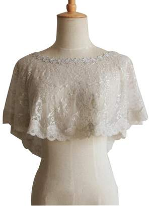 BHLSZ Women's Lace Short Shawl For Wedding Evening Dresses 117LG