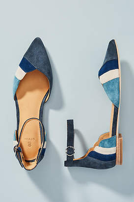 Bill Blass Sandra Colorblocked City Flats